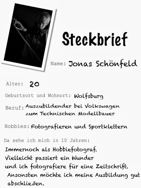 interview steckbrief